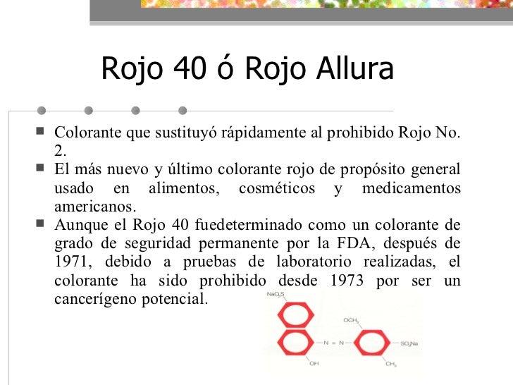 Colores Aprobados Por La FDA