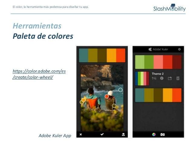 El color la herramienta m s poderosa para dise ar tu app - App para disenar ...