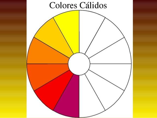Colores cálidos