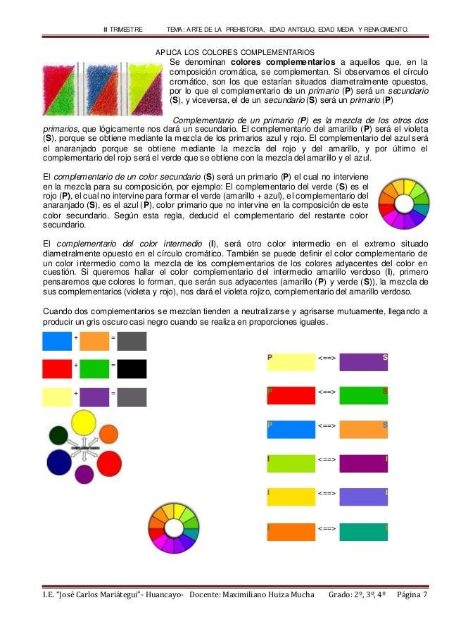 Colores complementarios - Como se consigue el color naranja ...