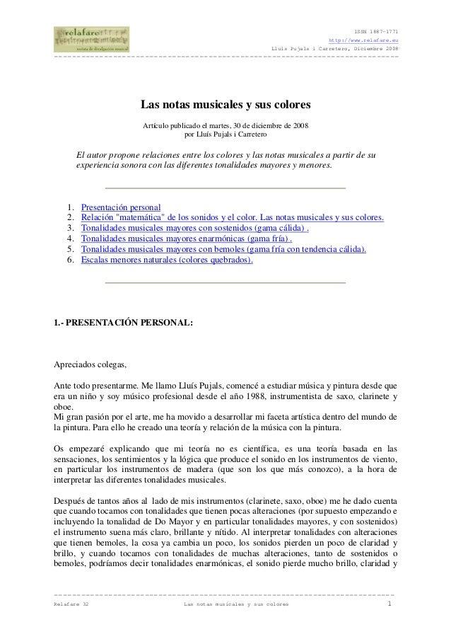 ISSN 1887-1771 http://www.relafare.eu Lluís Pujals i Carretero, Diciembre 2008  ------------------------------------------...