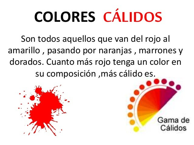 Colores frios y calidos 1 for Cuales son los colores minimalistas