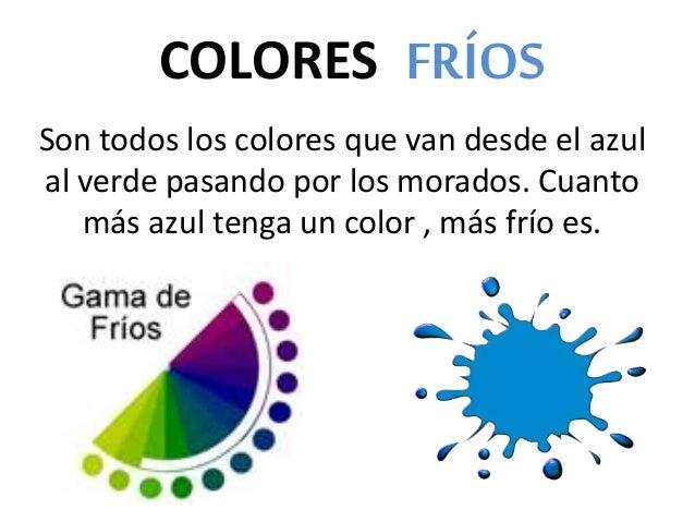 Colores frios y calidos 1 - Los colores calidos y frios ...