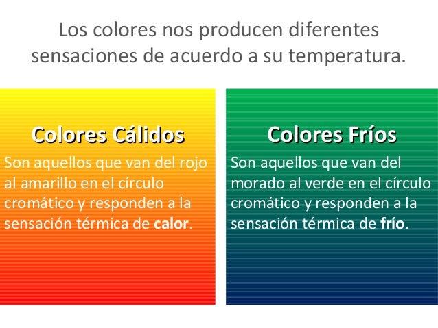 Colores ppt - Cuales son los colores calidos y frios ...