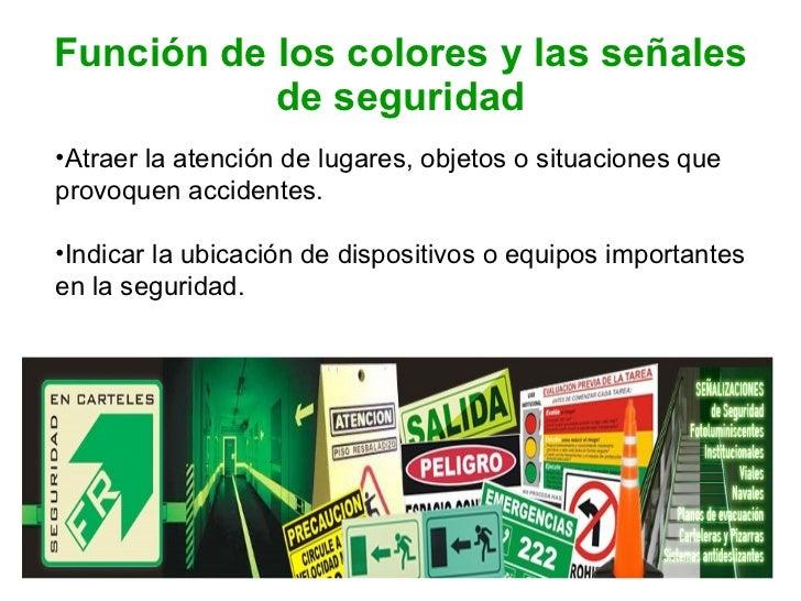 Colores y señales de seguridad Slide 2