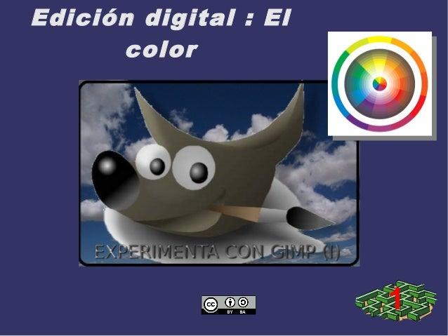 Edición digital : El color 1