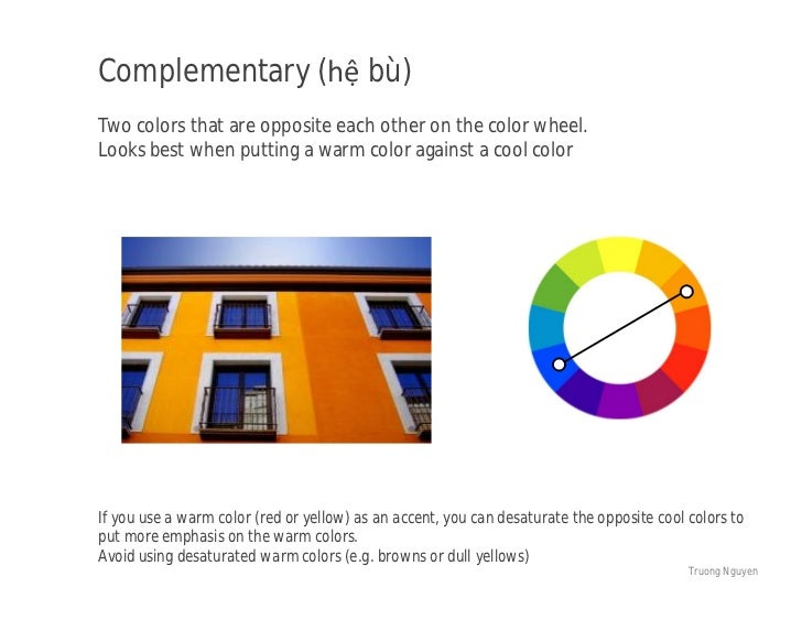 Complementary He BuTwo Colors