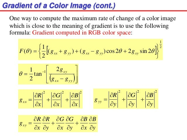 color image processing presentation