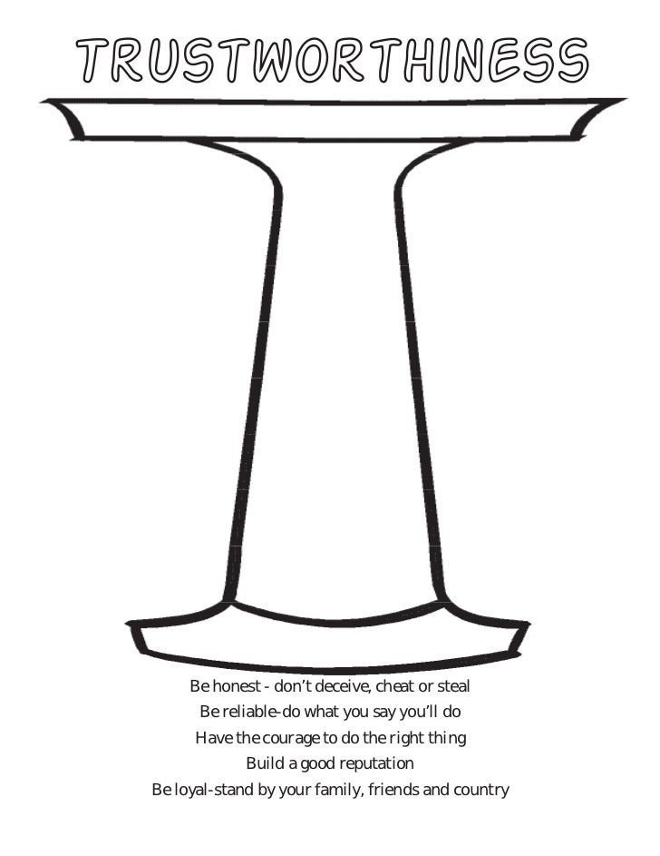Pillars Character Coloring Pages