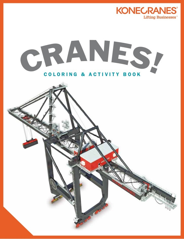 Cranes! A Coloring and Activity Book!