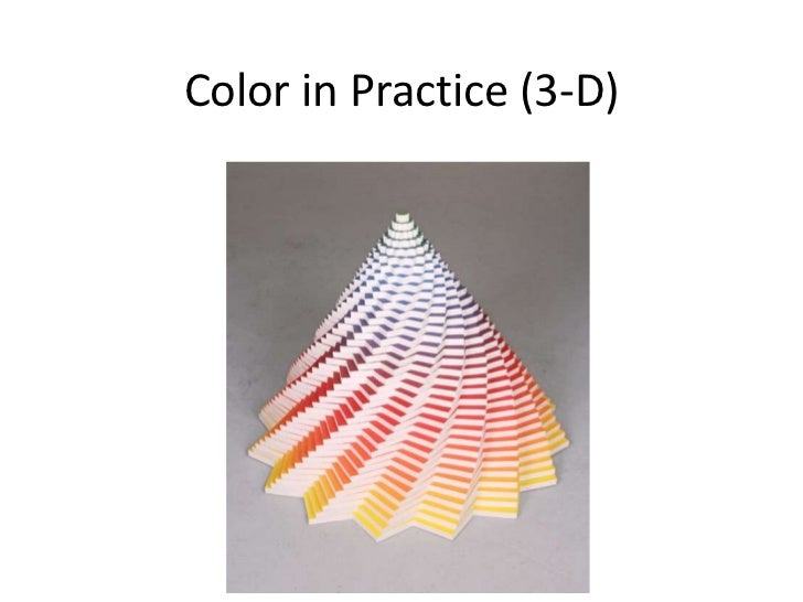 Color in Practice (3-D)<br />