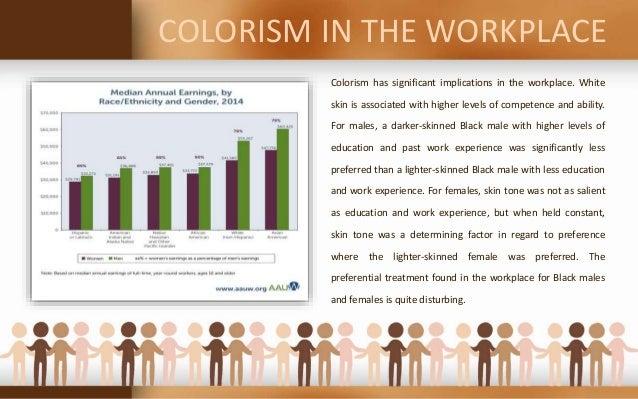 Colorism and socioeconomic status