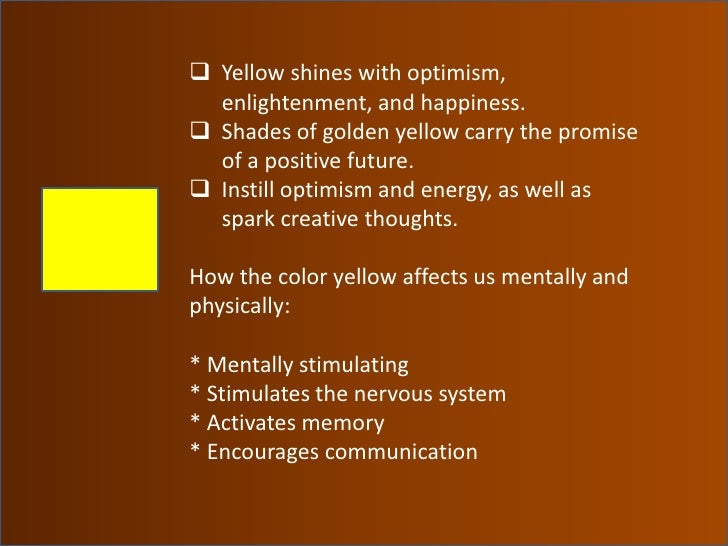 color meaning symbolism and psychology in one's personality