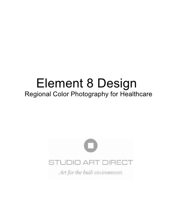 Element 8 Design  Regional Color Photography for Healthcare