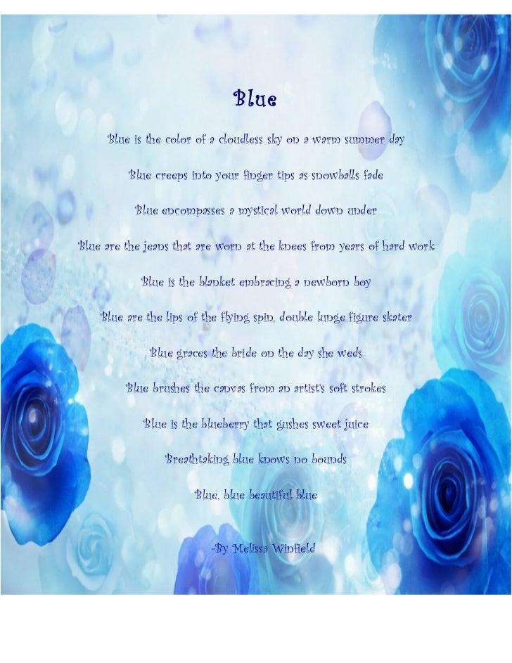 Blue Poems 27