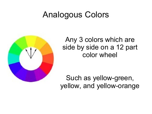 Color Presentation Intro To Art