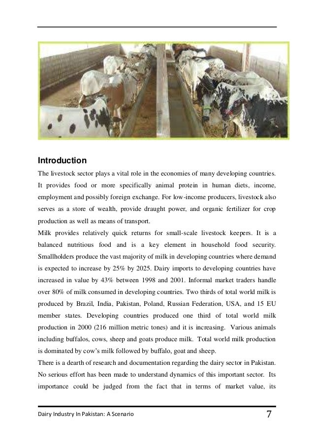 pakistan dairy industry Dairy/cattle farms in pakistan 11,804 likes 4 talking about this company.