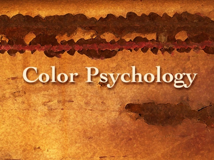 Color Design                 Psychology of ColorColors convey strong emotional meaning to an audience.Marketing research s...