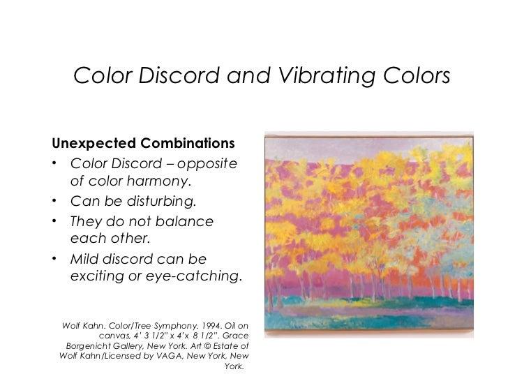 25. Color Discord ...