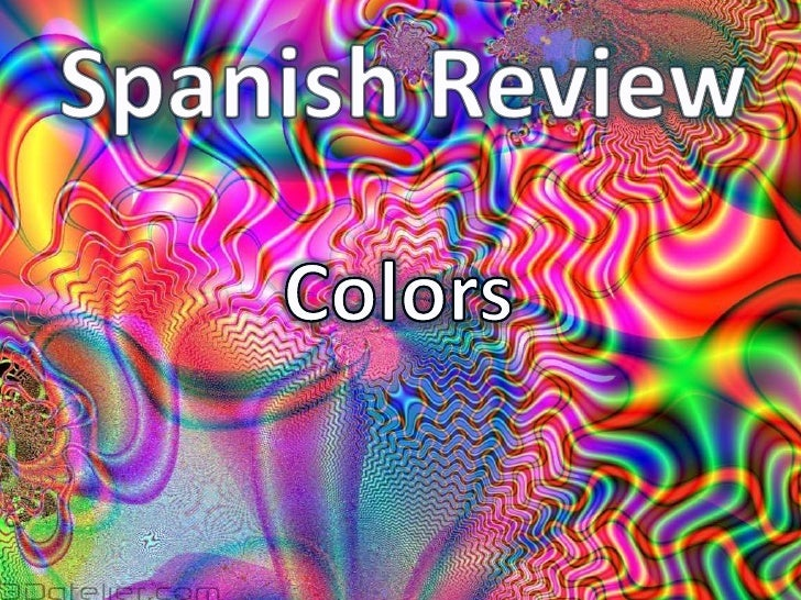Spanish Review<br />Colors<br />