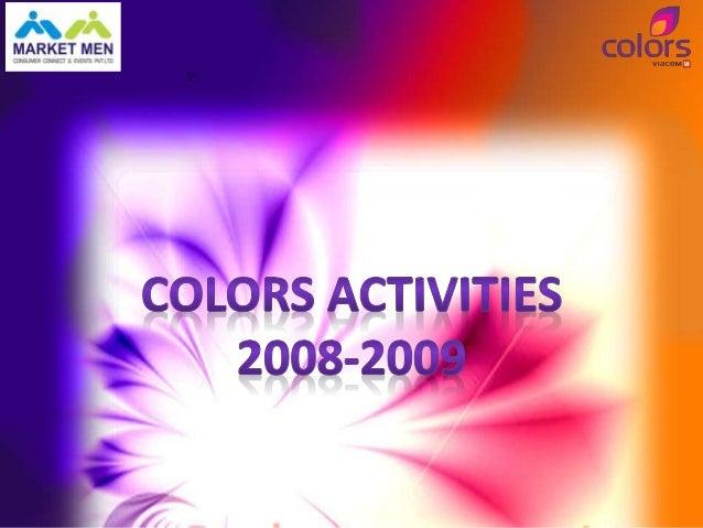 Colors Networking Café    at FICCI Fames