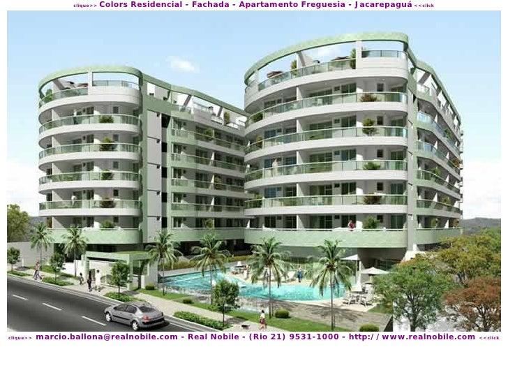 Colors Residencial - Fachada - Apartamento Freguesia - Jacarepaguá <<click                   clique>>                marci...
