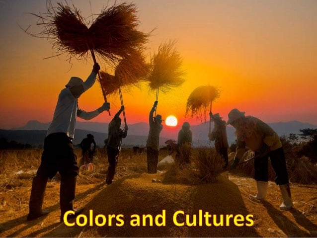 Colors and cultures.....