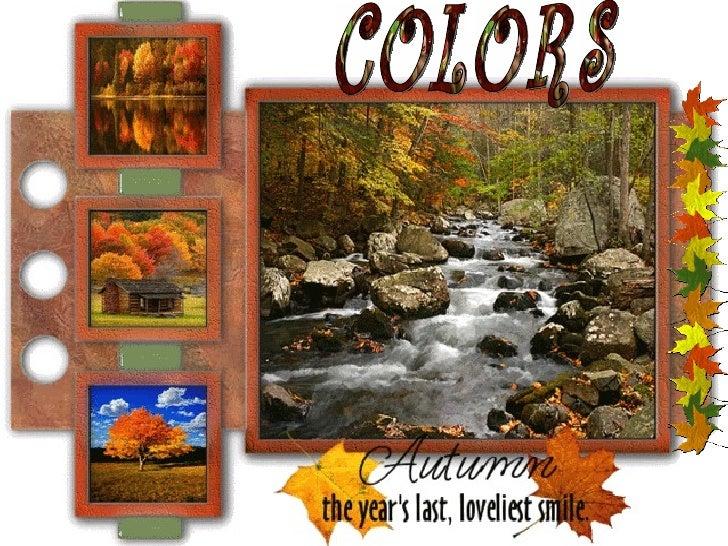 Colors Autumn