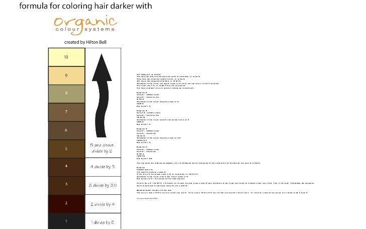 Hair Color Organic Color Systems Hair Color Seminar