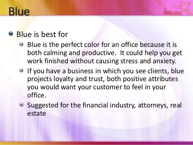 Is Blue A Calming Color calming colors for office. calming paint colors for an office