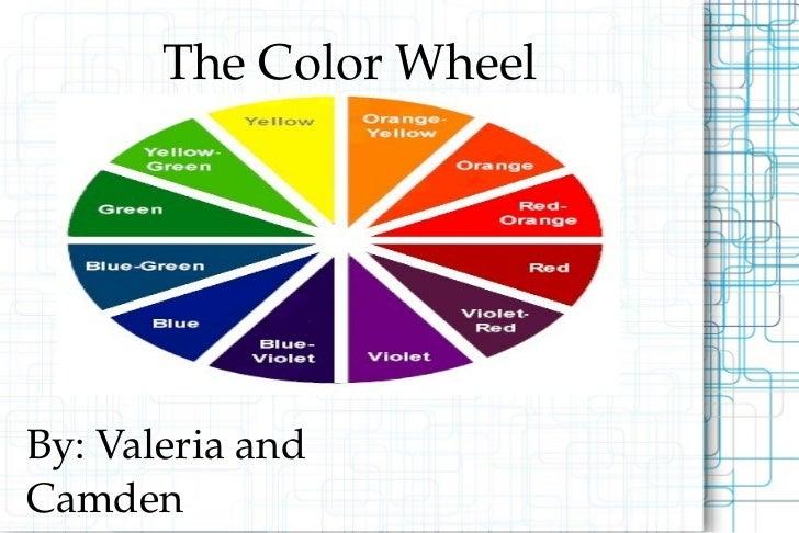 Color slide show - Show color wheel ...