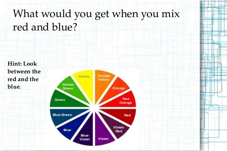 Color slide show