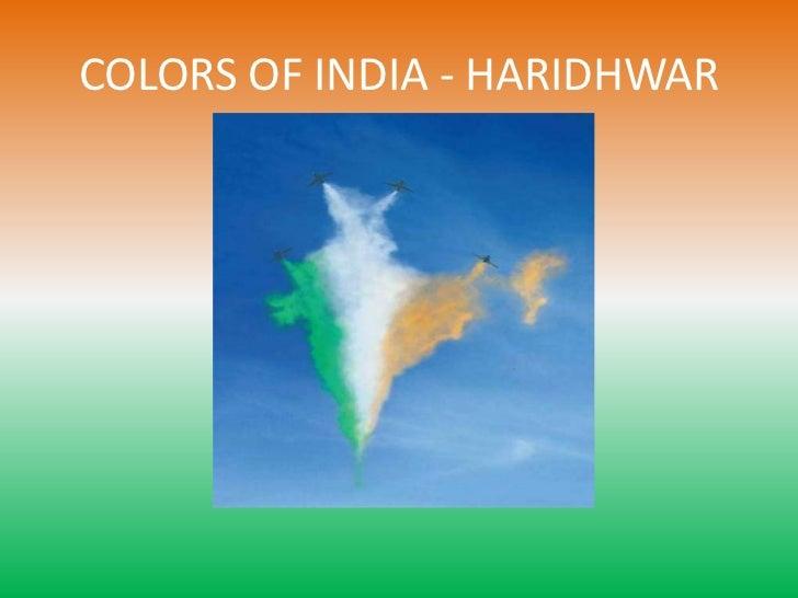 COLORS OF INDIA - HARIDHWAR