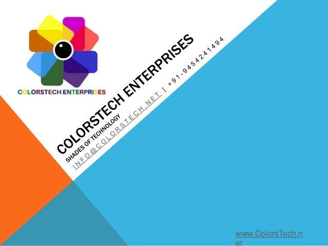 www.ColorsTech.n