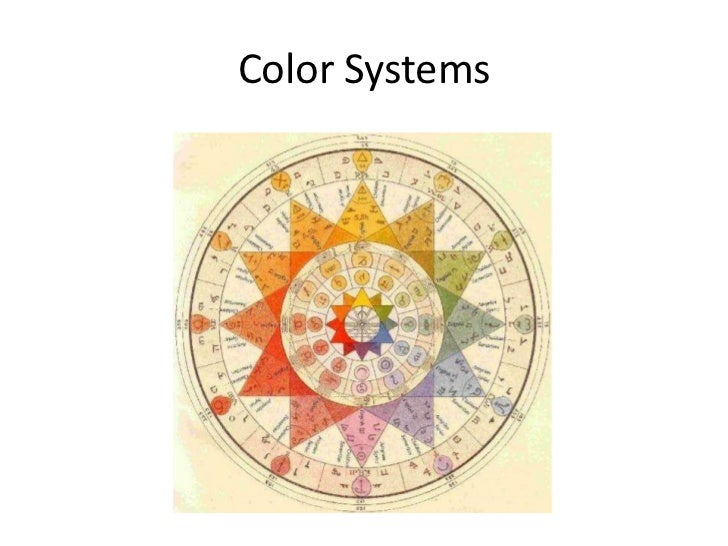 Color Systems<br />