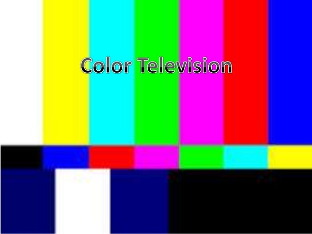 History Of Color Television Comic