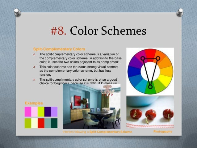 Examples Interiors Following A Complementary Color Scheme 26