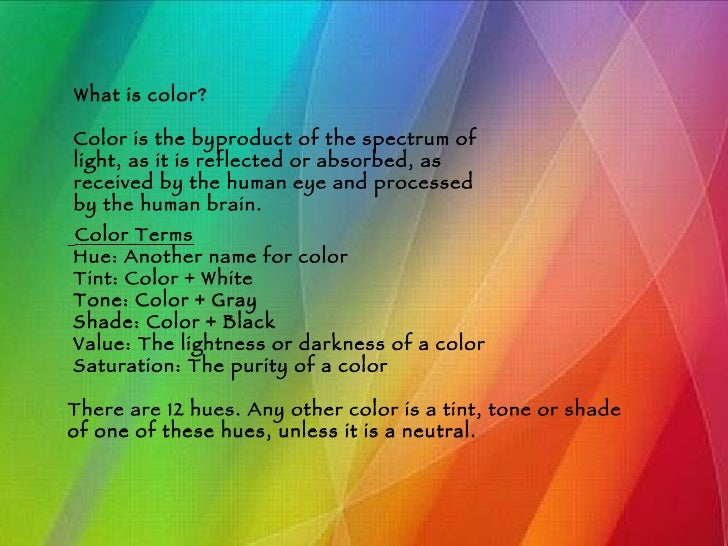 color - Color Theory Book