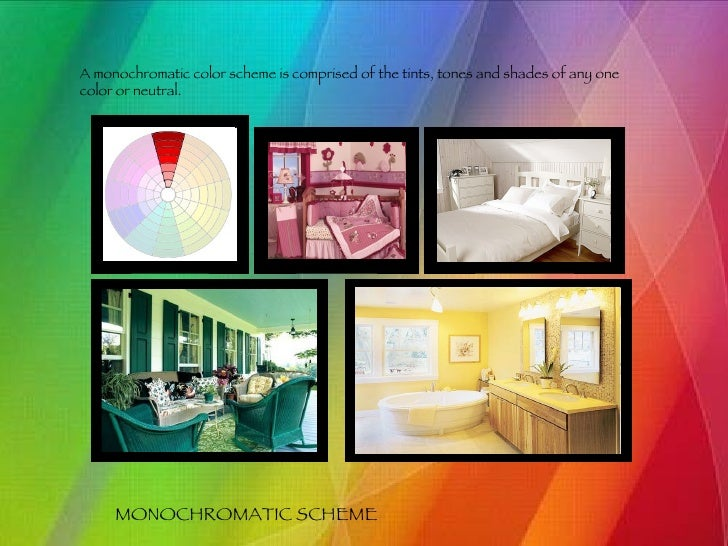 6 monochromatic scheme a monochromatic color - Color Theory Book