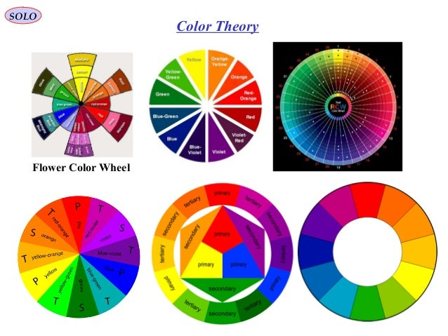 22 SOLO Color Theory Flower Wheel