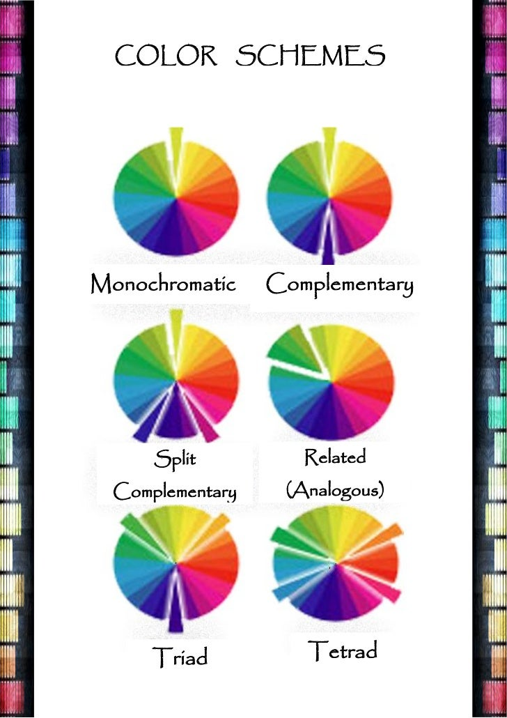 Color Theory Wheel Analogous Monochromatic Complementary At BeautyGirlco