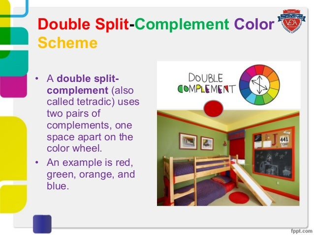 Double Split Complement Color Scheme 17