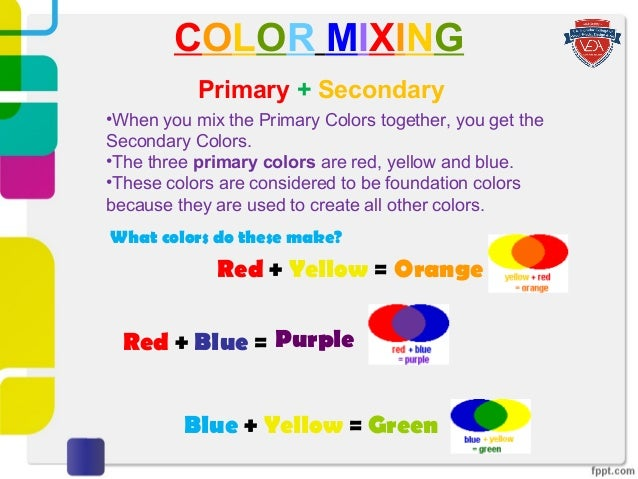 What Color Does Blue And Purple Make When Mixed Together What Color