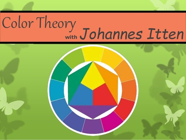 Color Theory With Johannes Itten
