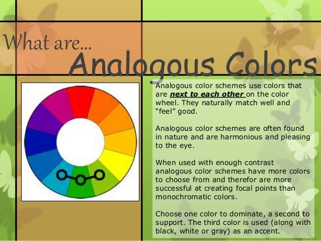 What Are Analogous ColorsAnalogous Color
