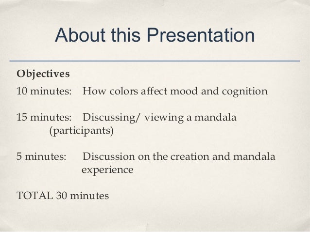 Color Theory Presented by Dr. Amanda Pike from The Florida Art Therapy Association Slide 2
