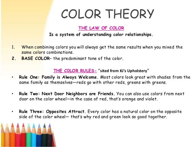 Understanding Color Theory color theroy level 1