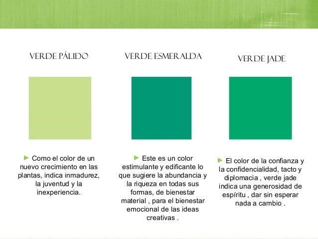 Colo verde for Como hacer color verde