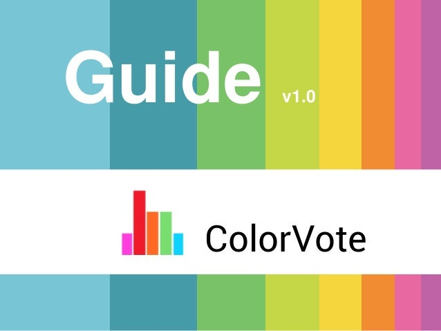 Guide  v1.0  ColorVote