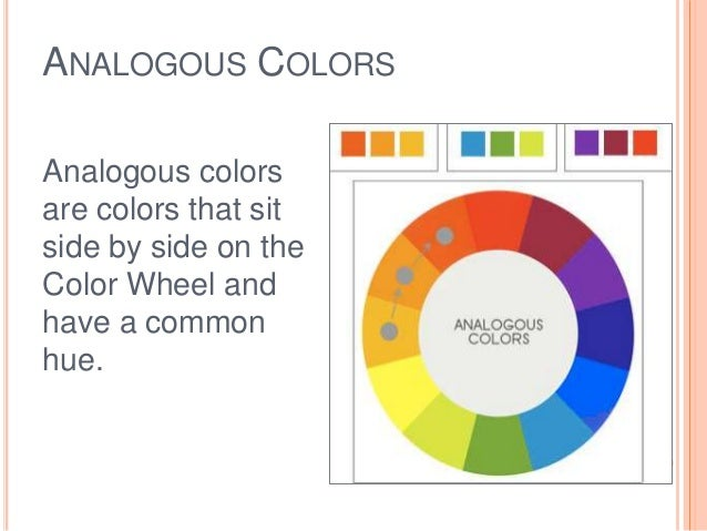 Colorwheel colorscheme - Analogous color scheme definition ...
